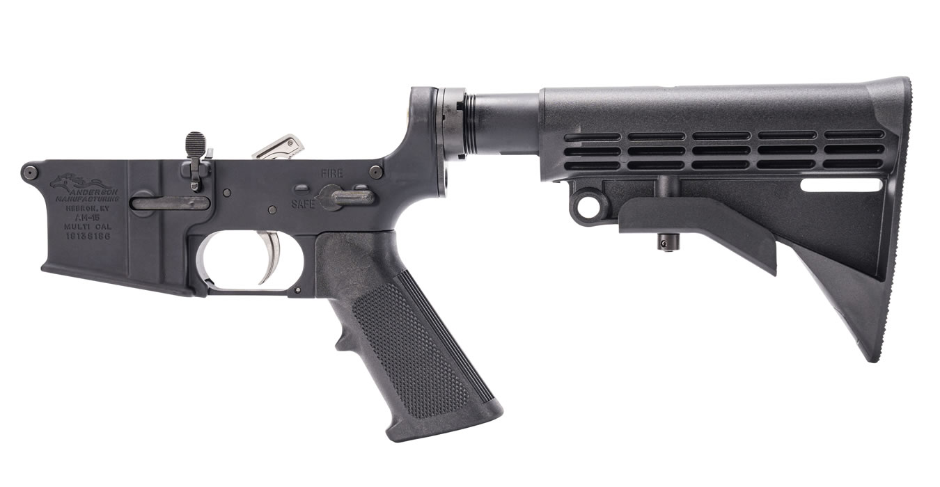 Complete Open Trigger Assembled AR-15 Lower 5 56mm
