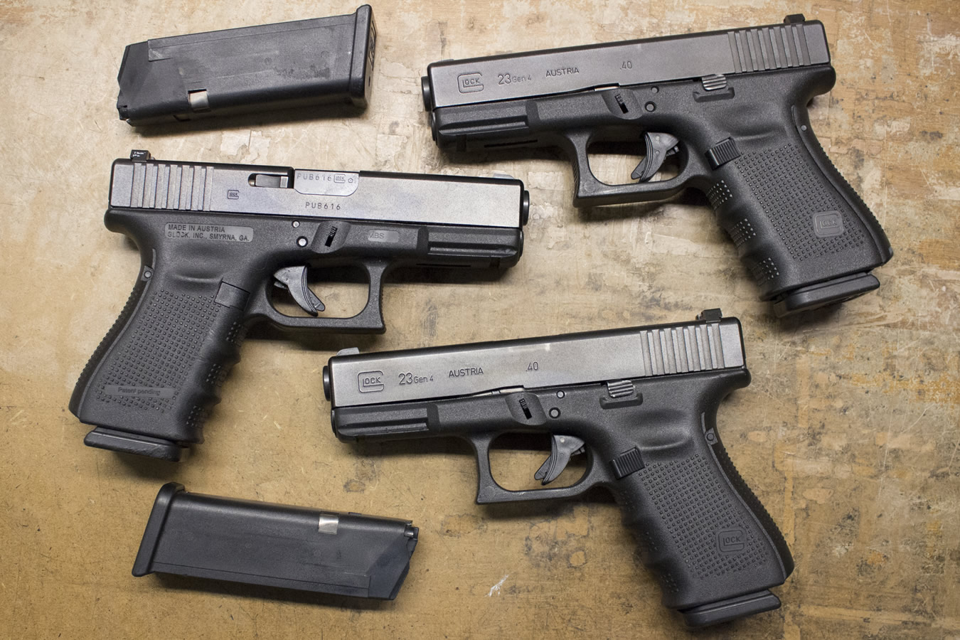 Pictures On Glock Factory Work Bench Mat