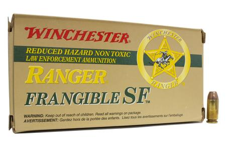 WINCHESTER AMMO 40 SW 135 gr Frangible SF Ranger Trade Ammo 50/Box