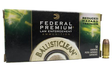 Federal 40SW 125 gr RHT Ballisticlean Trade Ammo 50/Box