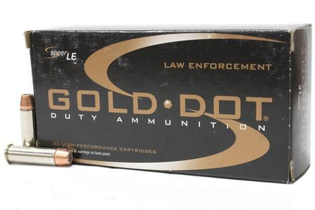 Speer 38 Special 125 gr HP Gold Dot Trade 50/Box