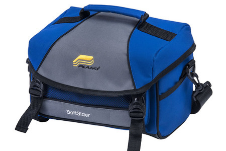 BLUE-WEEKEND SERIES SOFTSIDER TACKLE BAG