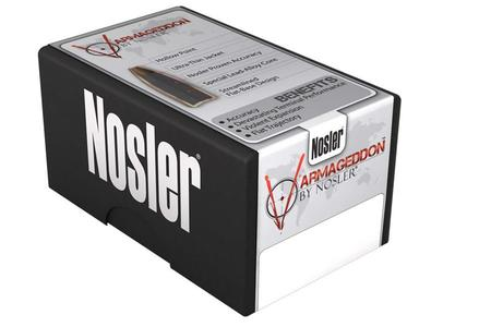NOSLER 17 Cal (.172) 20 gr Tipped Point Varmageddon 100/Box
