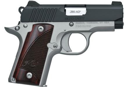KIMBER Micro Two-Tone .380 ACP Carry Conceal Pistol