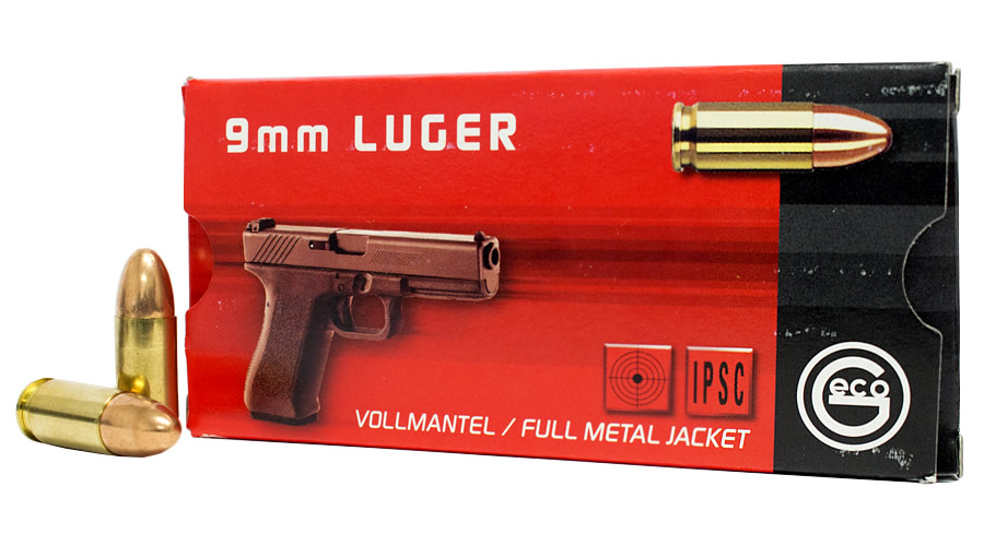 geco 9mm luger 124 gr fmj ammo 50 box sportsman s outdoor superstore