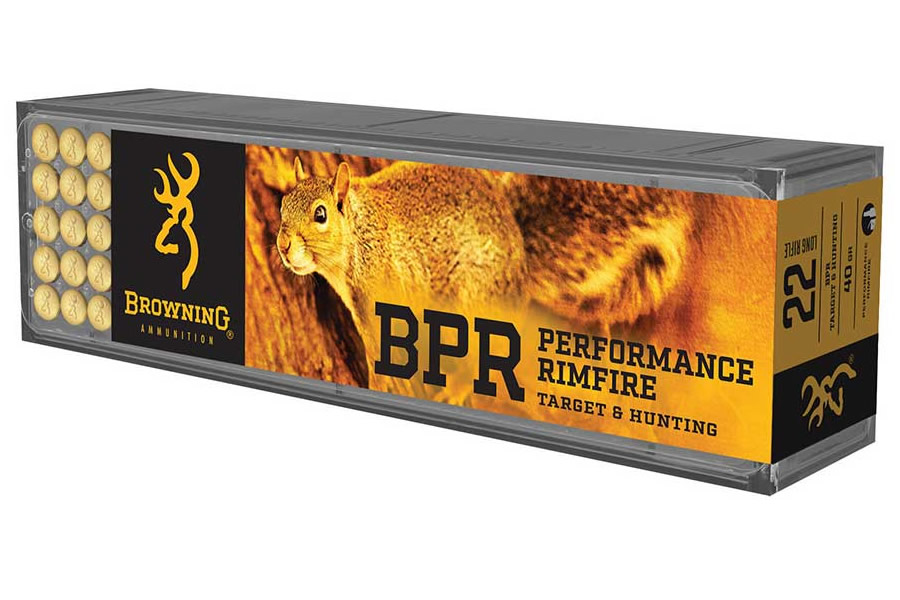 BROWNING AMMUNITION 22 LR 40 GR HP BPR PERFORMANCE 100/BOX