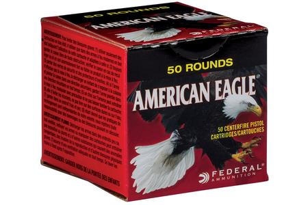 Federal 9mm Luger 115 gr FMJ American Eagle 50/Box
