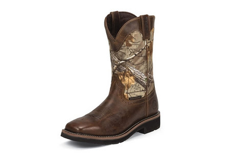 RUGGED TAN COWHIDE WATERPROOF