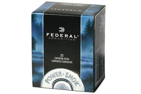 FEDERAL AMMUNITION 357 Magnum 180 gr JHP Power Shok 20/Box