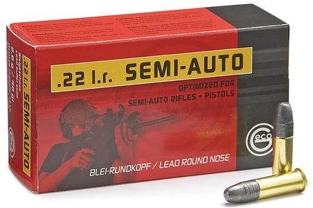 Geco 22LR 40 gr Lead Round Nose 50/Box