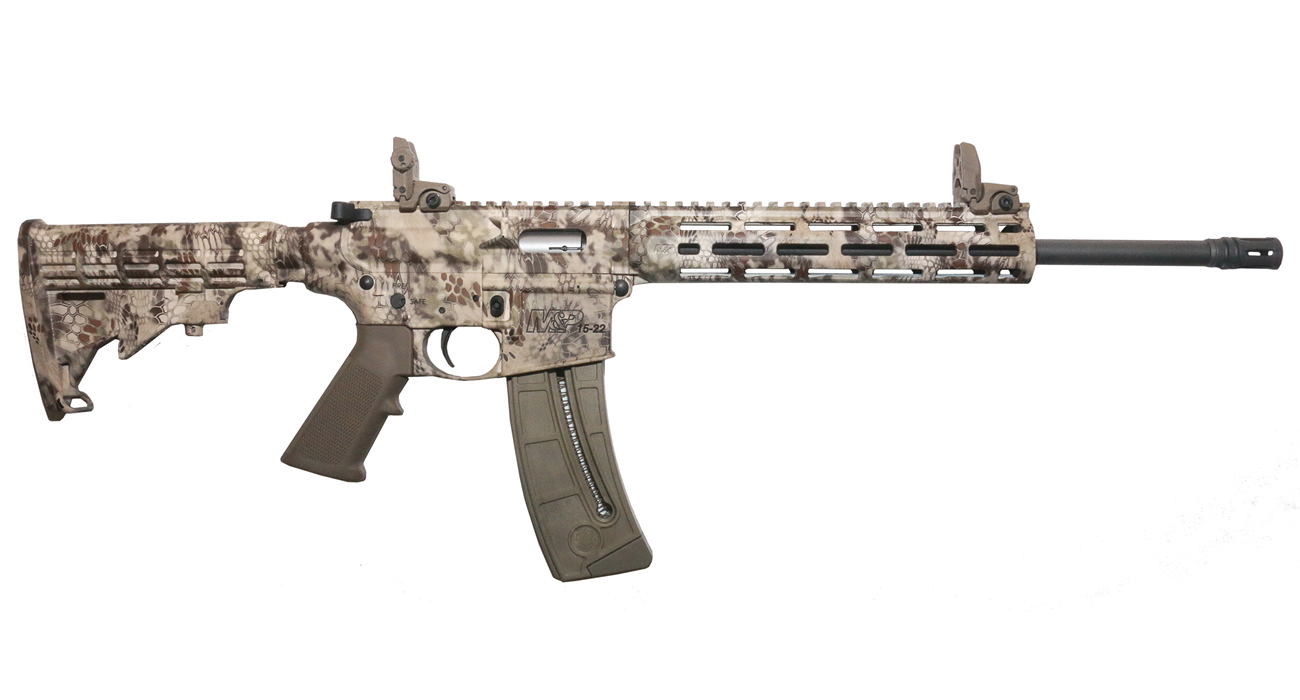 No. 4 Best Selling: SMITH AND WESSON MP15-22 SPORT KRYPTEK HIGHLANDER