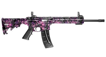 SMITH AND WESSON MP15-22 SPORT MUDDY GIRL CAMO