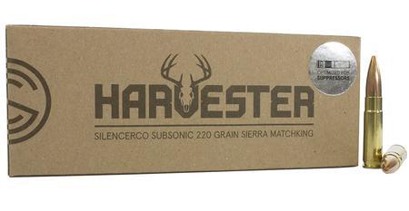 SILENCERCO 300 Blackout 220 gr Sierra MatchKing Subsonic Harvester 20/Box
