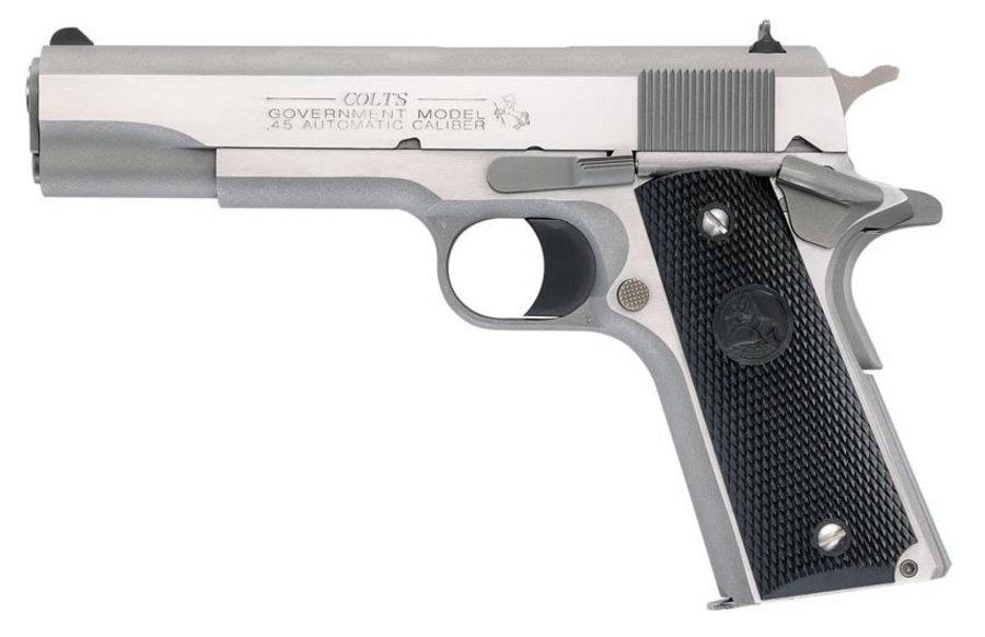 Colt 1991 Government Model 45 Acp Centerfire Pistol Le