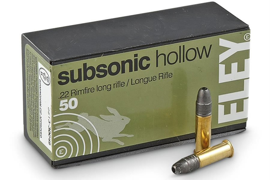 22LR 40 GR HP SUBSONIC HOLLOW 50/BOX