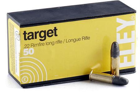 Eley 22LR 40 gr Lead Round Nose Target 50/Box