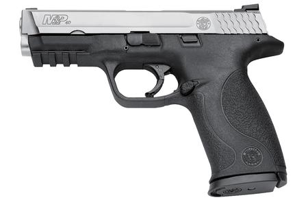 SMITH AND WESSON MP40 40SW TWO-TONE STAINLESS PISTOL