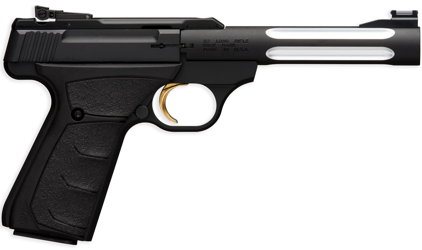 No. 9 Best Selling: BROWNING FIREARMS BUCK MARK BLACK FLUTED LITE 22 LR