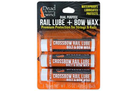 RAIL LUBE/BOW WAX 3 PACK