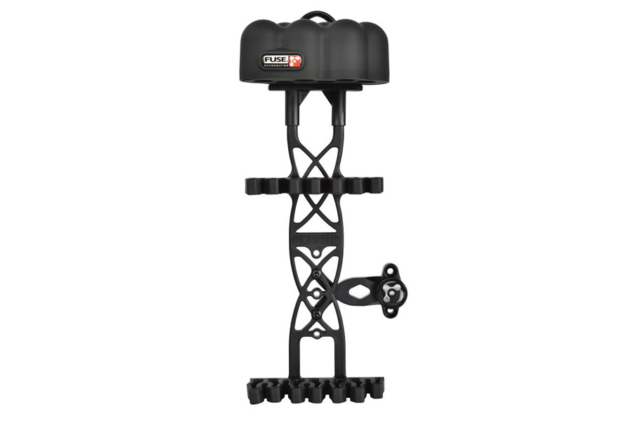 FUSE VECTOR 6 ARROW QUIVER BLACK
