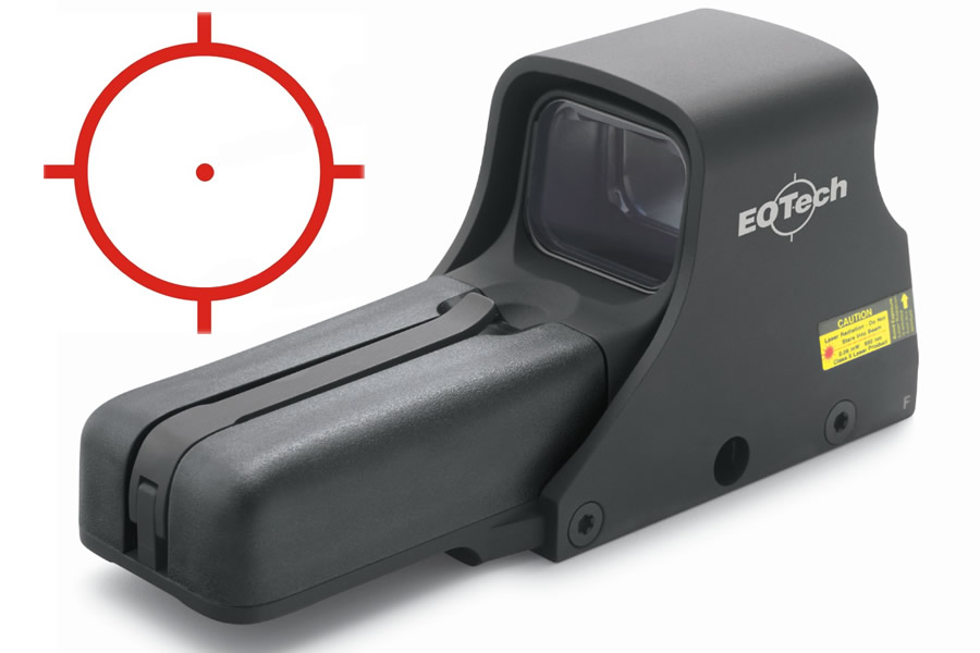 512 HOLOGRAPHIC WEAPON SIGHT RED DOT