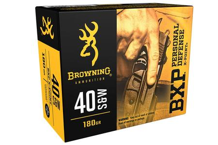 Browning 40SW 180 gr JHP X-Point BXP Personal Defense 25/Box