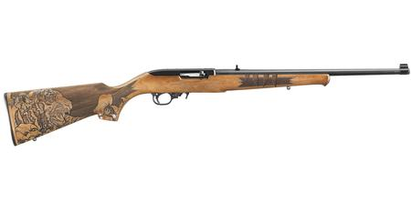 RUGER 10/22 22 LR TIGER STOCK EXCLUSIVE