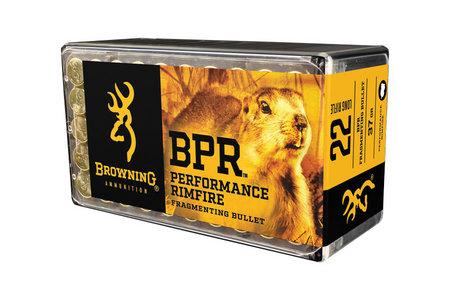Browning Ammunition 22LR 37 gr Fragmenting Bullet BPR 50/Box