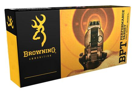 Browning Ammunition 380 Auto 95 gr FMJ BPT Performance Target 50/Box