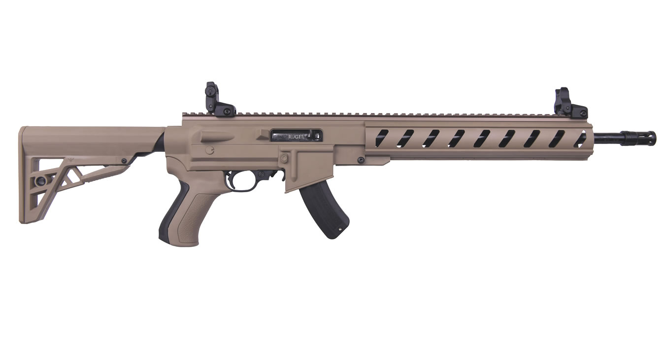 10/22 AR-22 22LR WITH FDE ATI STOCK
