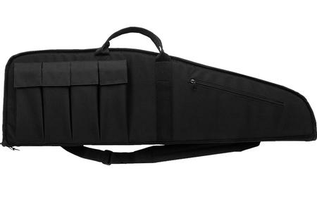 BULLDOG Extreme Black Tactical Rifle Case Floatable with Magazine Pouches (45 in.)