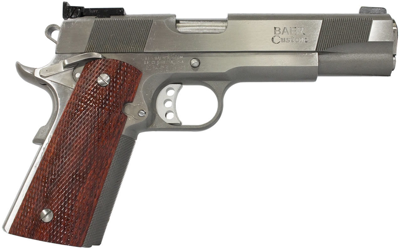 STAINLESS PREMIER II 1911 .45 ACP