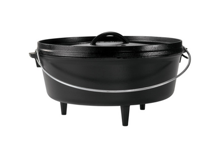 12 INCH / 6 QUART CAMP DUTCH OVEN