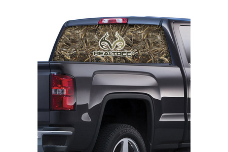 REALTREE LOGO REAR WINDOW GRAPHIC MAX-5