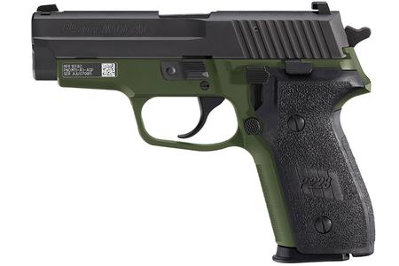 SIG SAUER M11-A1 9MM ARMY GREEN ANODIZED