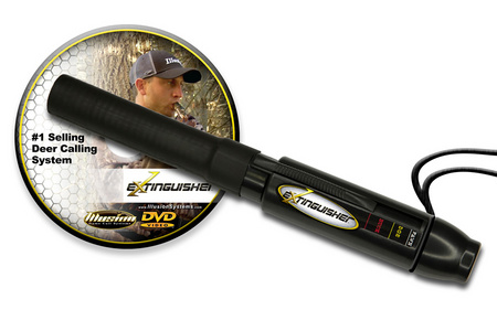 EXTINGUISHER DEER CALL (BLK)