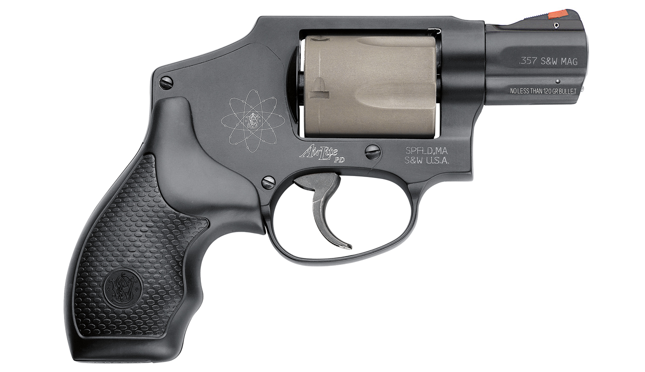 Smith & Wesson Model 340PD AirLite PD 357 Magnum Scandium J-Frame ...