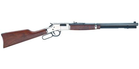 BIG BOY SILVER 357 MAGNUM LEVER ACTION