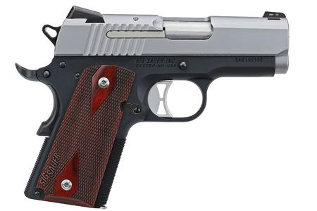 SIG SAUER 1911 ULTRA COMPACT TWO-TONE 9MM
