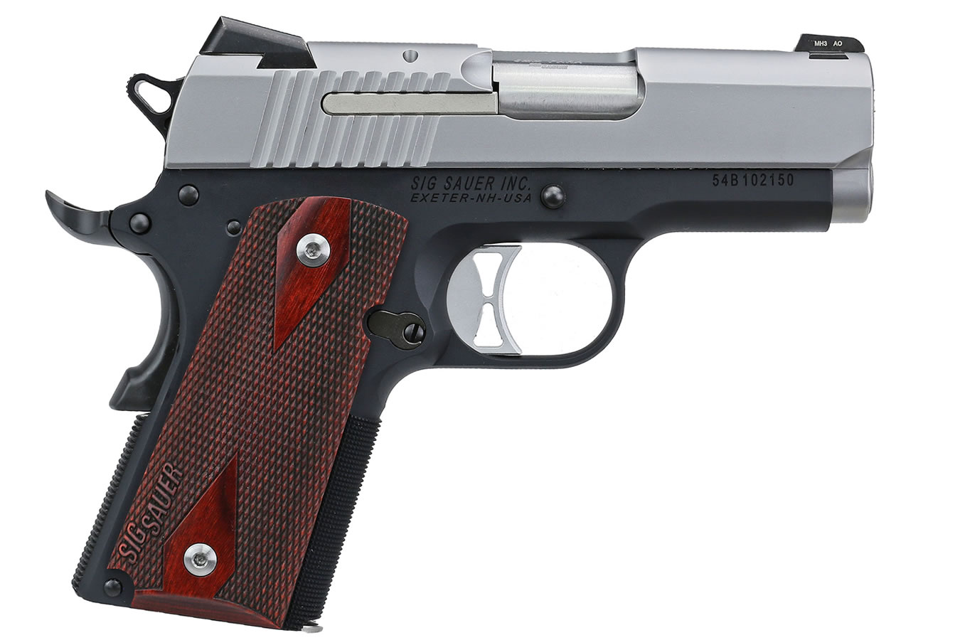 1911 Ultra Compact Two-Tone 9mm with Night Sights