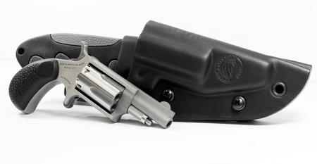 22 MAG MINI-REVOLVER WITH CRKT GUT HOOK