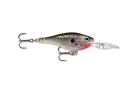 GLASS SHAD RAP 3/16OZ