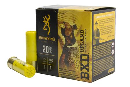 20 GAUGE 2 3/4 IN 1 OZ #5 SHOT BXD UED
