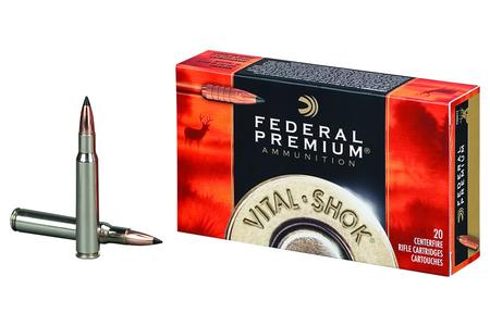 FEDERAL AMMUNITION 338 Win Mag 200 gr Trophy Bonded Tip Vital-Shok 20/Box