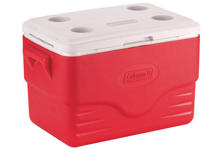 COOLER 36QT RED GLBL
