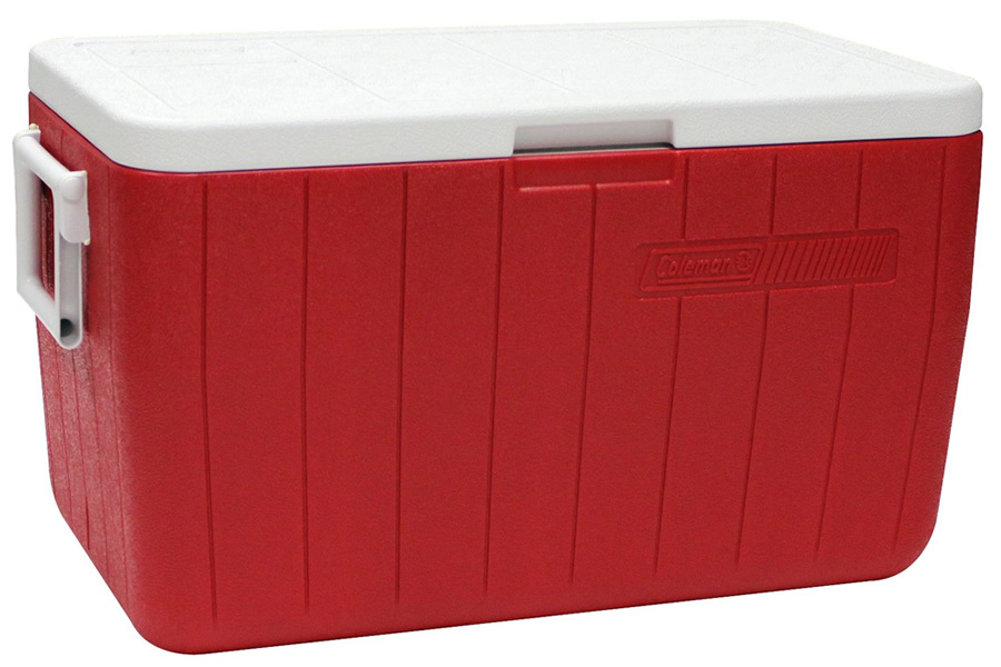 COOLER 48QT RED NO TRAY