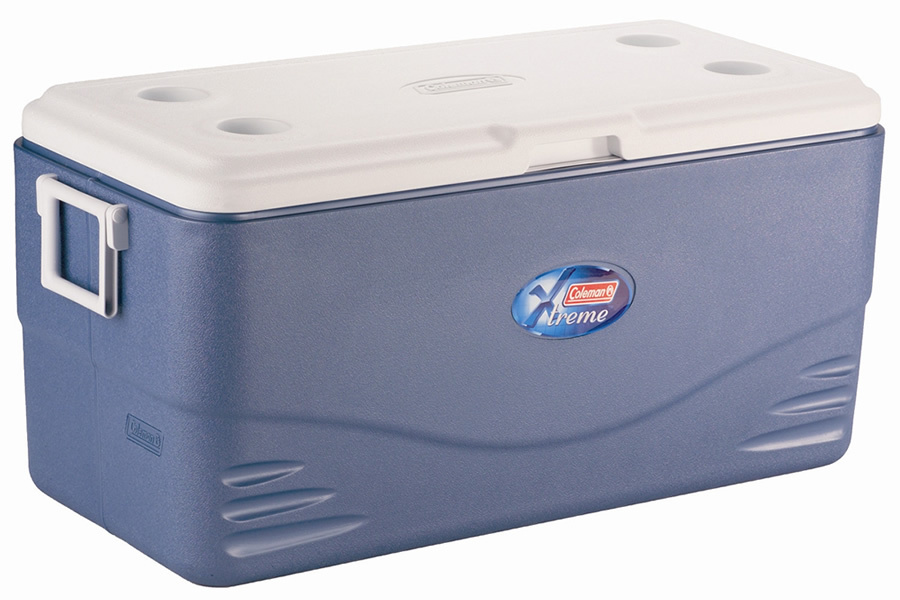 COLEMAN 100 QUART XTREME 5 COOLER BLUE