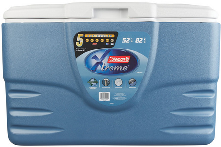 52 QUART XTREME 5 COOLER BLUE