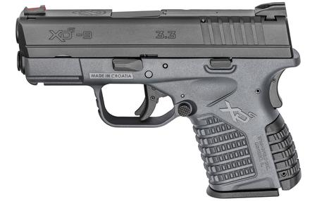 SPRINGFIELD XDS 3.3 9MM GRAY ESSENTIALS PACKAGE