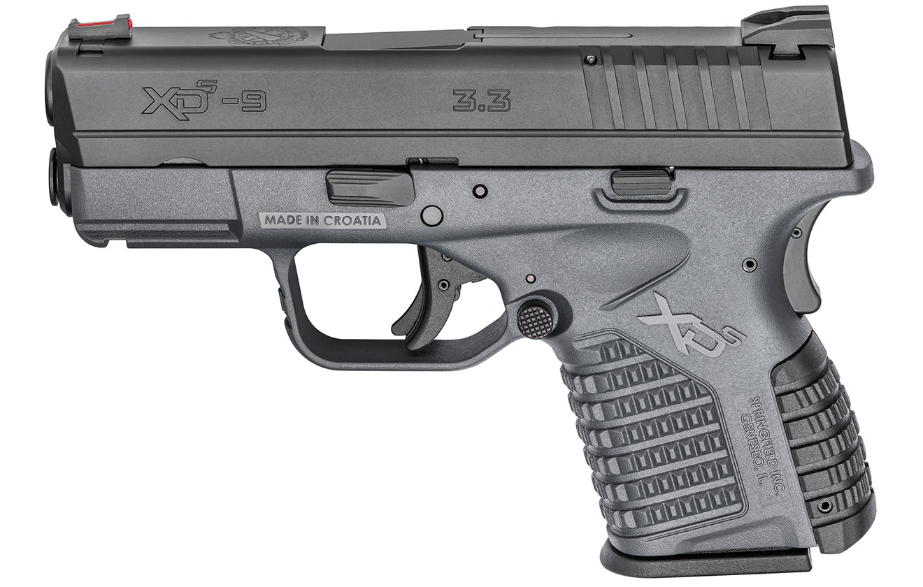 XDS 3.3 9MM GRAY ESSENTIALS PACKAGE